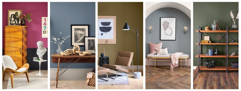 Los colores tendencia del año para tu hogar